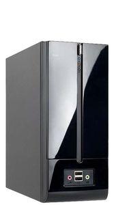 BrandStar Компьютер BrandStar Компакт 1400691-003. Intel Pentium G4400. Intel H110 DDR4 mATX. DDR4 8GB PC-17000 2133MHz. 500GB 7200rpm. Встроенная. Без привода. Sound HDA 7.1. InWin miniITX 160W black Slim. Без операционной системы (компактный системный блок)