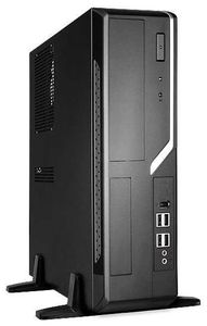 BrandStar Компьютер BrandStar Компакт 1400178-003. AMD A4 X2 7300. AMD A58 mATX FM2+. DDR3 4GB PC-10660 1333MHz. 120GB SSD. Встроенная. Без привода. Sound HDA 7.1. InWin microATX 300W black Slim. Без операционной системы (компактный системный блок) 5 resistive screen wince 6 0 gps navigator w fm transmitter tf 4gb brazil map black red
