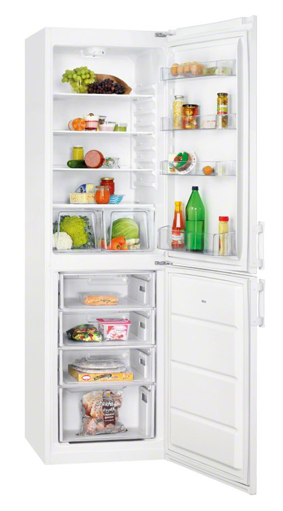 Двухкамерный холодильник с нижним расположением морозильной камеры